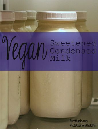 This dairy free vegan sweetened condensed milk recipe is a must have around the house. This sweetened condensed milk recipe is easy and simple to make!