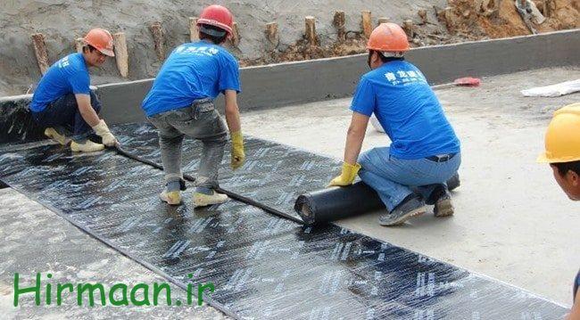 فروش ایزوگام درجه یک دلیجان با قیمت مناسب Membrane Leak Repair Swimming Pool Water