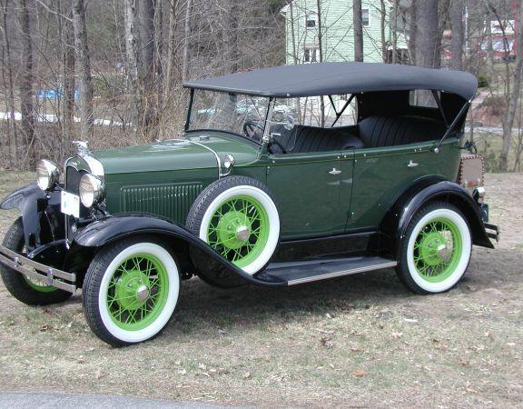 1931 Model A Ford Phaeton