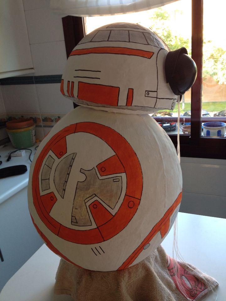 Piñata BB-8. Hecha por mí