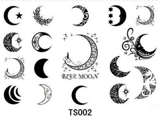32+ desenhos de tatuagens de lua   – Tattoos