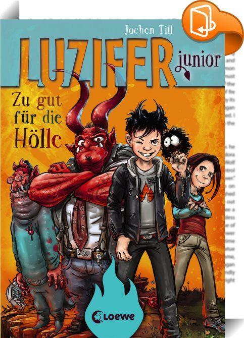 """Luzifer junior 1 - Zu gut für die Hölle    :  Ein Teufel in der Schule – der Comic-Roman um den Höllensohn Luzifer bietet Lesespaß und viel Grund zum lauthals lachen für Mädchen und Jungen ab 10 Jahren. Zahlreiche humorvolle Bilder illustrieren Luzifers Abenteuer in der Hölle und im strengen Jungeninternat. Wer Gregs Tagebuch mag, wird Luzifer junior lieben!  Luzifer junior lebt als Sohn des Teufels in der Hölle und soll den """"Laden"""" einmal übernehmen. Pech nur, dass sein Papa findet, L..."""