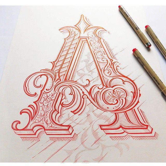 Letter A By Mateusz Witczak Designs
