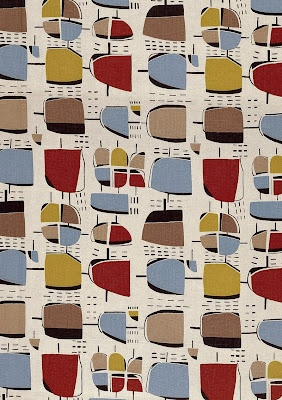 lucienne day was a british designer inspired by abstract art. She pioneered the use of bright, optimistic, abstract patterns in post war england.