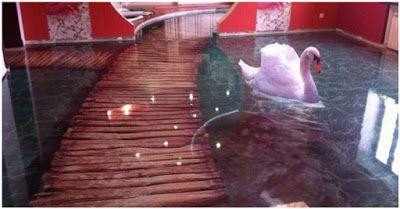 Tanto Alguma Coisa: 15 fotos que mostram como o piso líquido 3D pode t...
