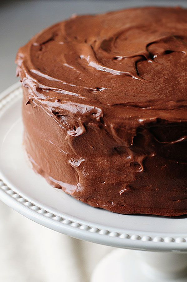 This buttercream is delicious and so easy too! Malted Buttercream Chocolate Frosting Recipe