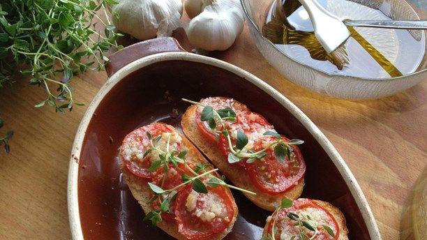 Ugnsbakade tomater. Foto: Annica Triberg/Sveriges Radio