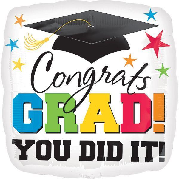 Congrats Grad Graduation Balloon