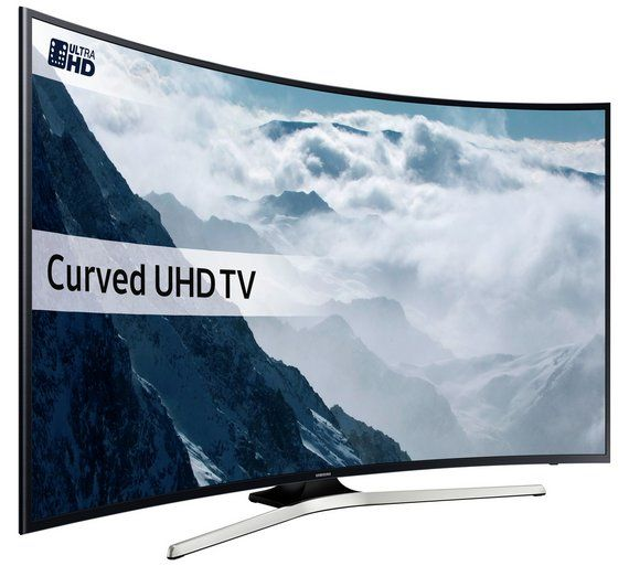 Buy Samsung 55KU6100 55 Inch Curved SMART 4K Ultra HD TV w/ HDR at Argos.co.uk, visit Argos.co.uk to shop online for Televisions, Televisions and accessories, Technology