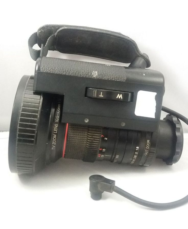 JVC TV Zoom Lens MACRO 10.5-105mm 1:1.8 10X  #JVC