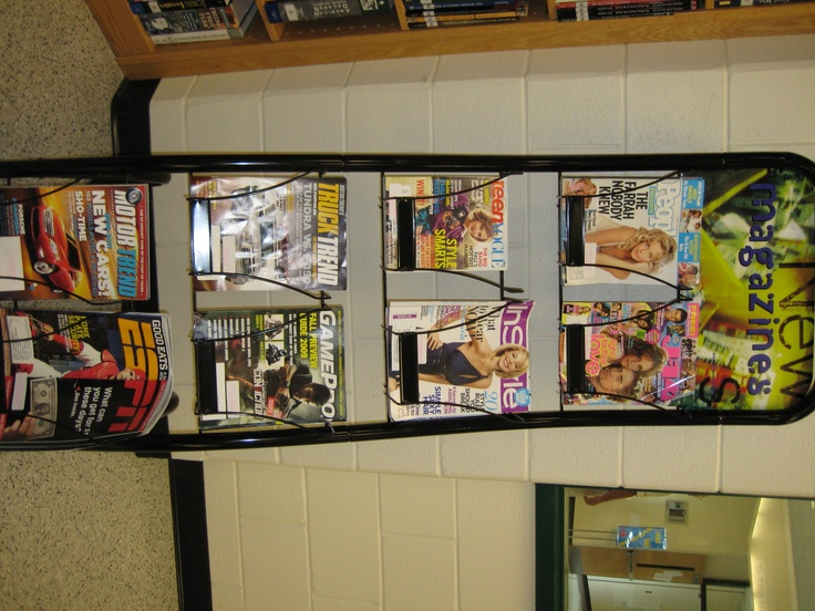 Magazine Rack  Photo taken by http://www.flickr.com/photos/theunquietlibrary/