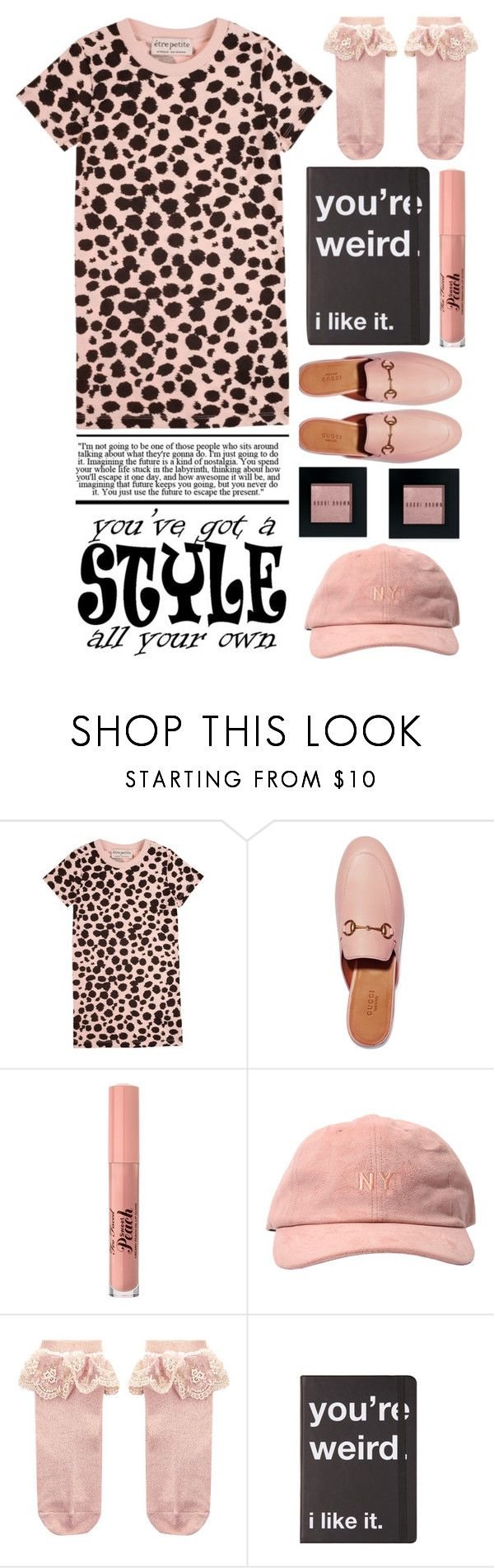 """You've Got A Style All Your Own"" by emcf3548 ❤ liked on Polyvore featuring Être Cécile, Gucci, Too Faced Cosmetics, Monsoon, Bobbi Brown Cosmetics and GUESS"