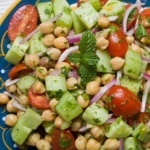 This Chickpea Cucumber Salad recipe is an excellent example of the most nutritious and flavorful ingredients found in the Mediterranean.