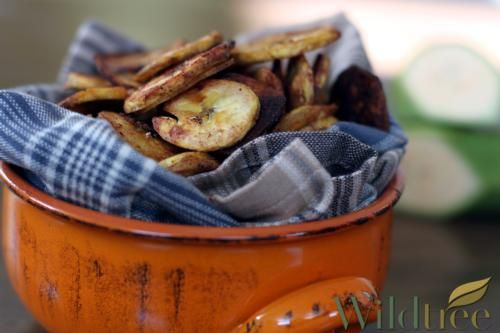 how to make plantain chips with sugar