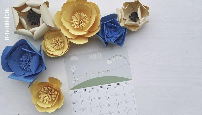 Aspettando la primavera  ( Marzo free printable )