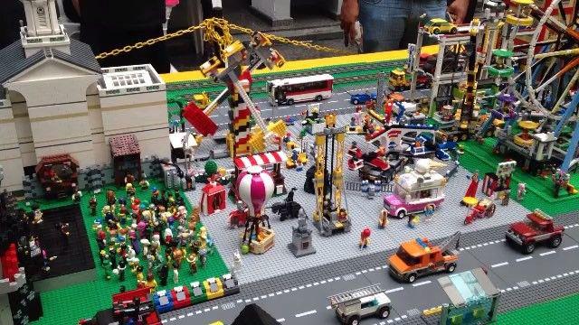 """13 curtidas, 2 comentários - Regiane Reis :} (@regianereiis) no Instagram: """"EXPO LUG Brasil 2015, Parque de Diversão!!! 😍uma exposição de criações feitas com peças de LEGO."""""""