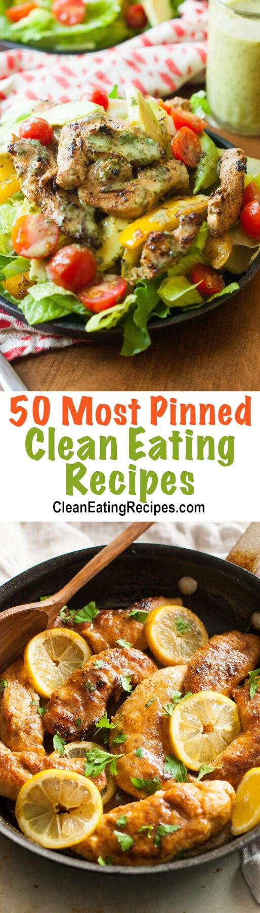 The 48 Best Clean Eating Recipes Pinned Over 50,000 Times on Pinterest
