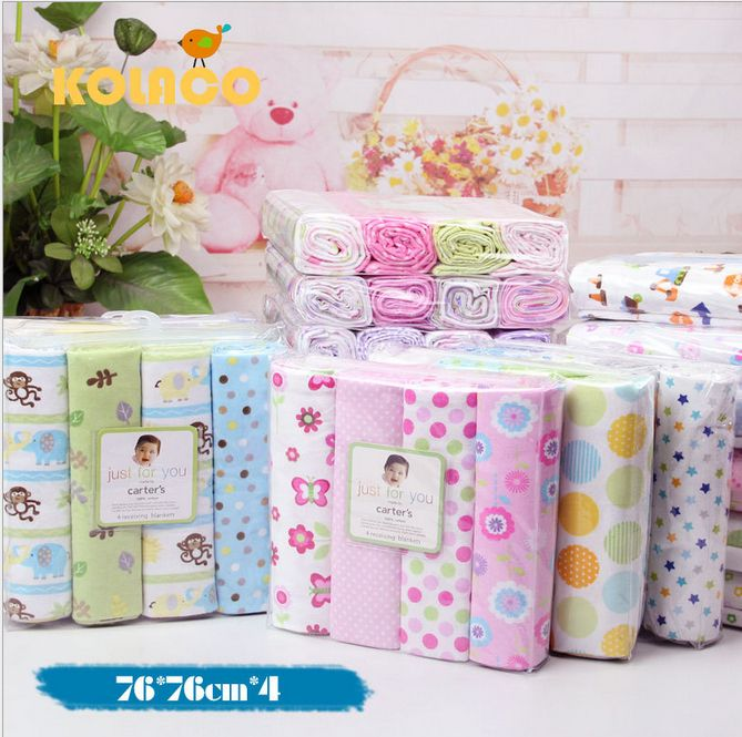 Cheap blanket, Buy Quality baby bath blanket directly from China baby sun protection swimwear Suppliers: Free shipping 4Pcs/Pack 100% cotton supersoft flannel receiving baby blanket 76*76CM  All our products comlpy w