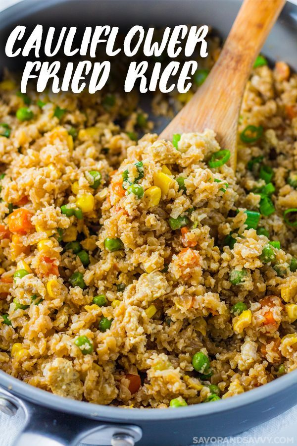 Cauliflower Fried Rice Recipe That S A Quick And Easy Vegetarian