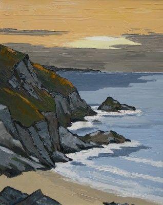 David BARNES - Anglesey Sunset