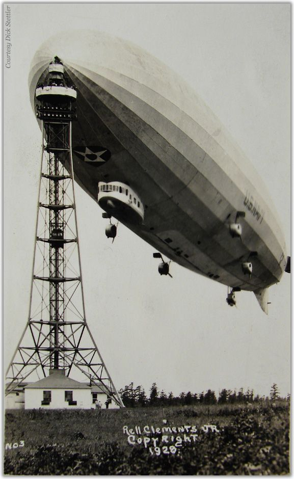 Zeppelin airship LZ 126 USS Los Angeles ZR-3 1924