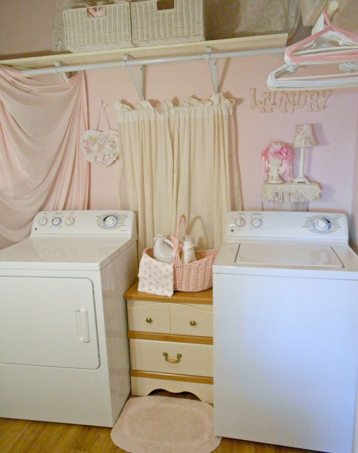 70 best Shabby Chic ~ Laundry Room Decor images on ...