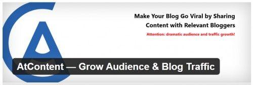 AtContent - Aumente o público e trafego do blog