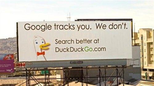 DuckDuckGo. com or startpage. com