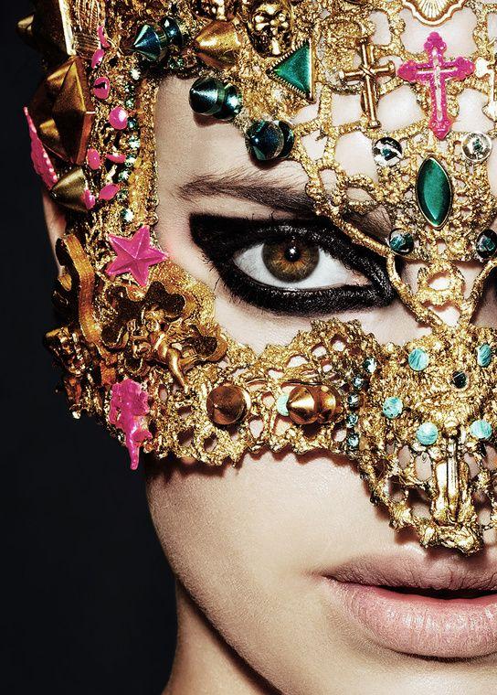 Miss M's Girls Trip / karen cox / New Orleans, Mardi Gras.bejeweled and embellished mask