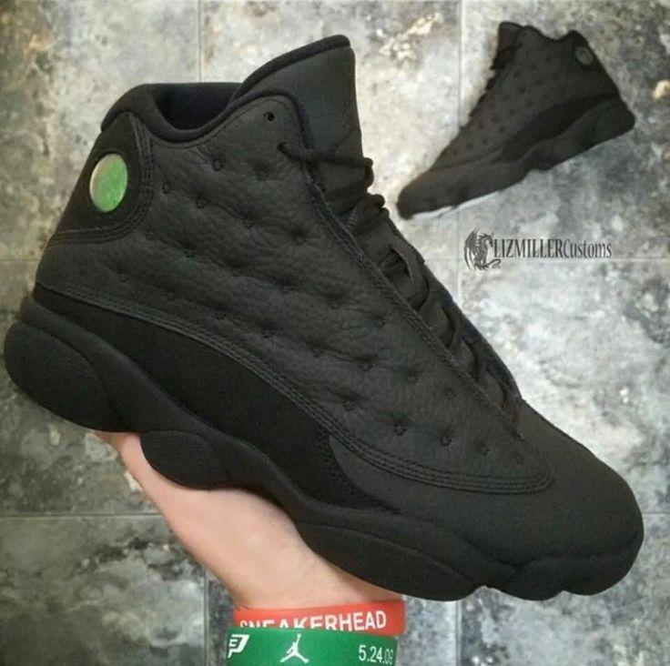 """Jordan 13 """"matte Black"""" My Kinda Kicks In 2019 Shoes"""