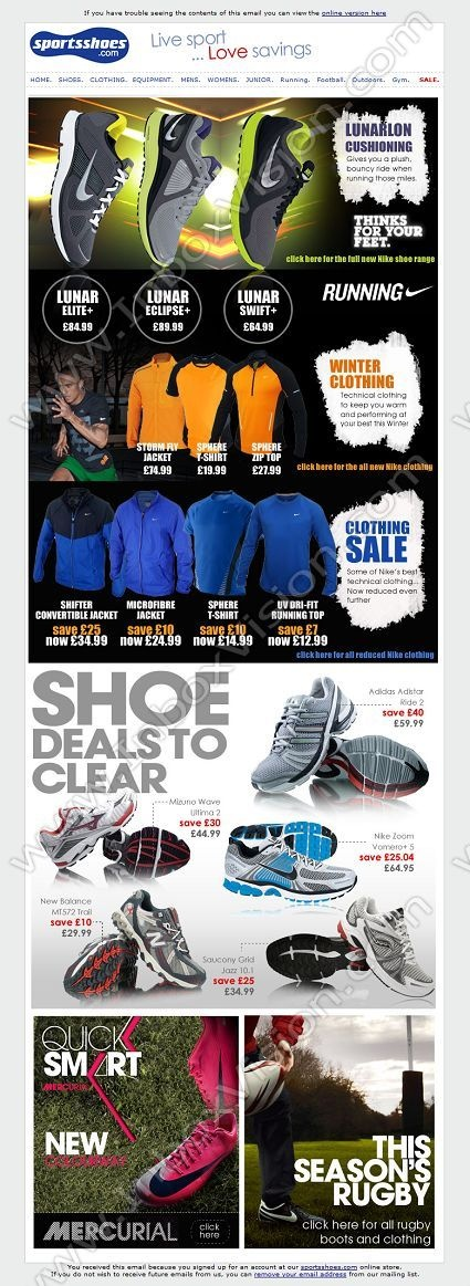 Company:    SportsShoes.com     Subject:    Just landed - new catalogue ranges              INBOXVISION providing email design ideas and email marketing intelligence.    www.inboxvision.com/blog/  #EmailMarketing #DigitalMarketing #EmailDesign #EmailTemplate #InboxVision  #SocialMedia #EmailNewsletters