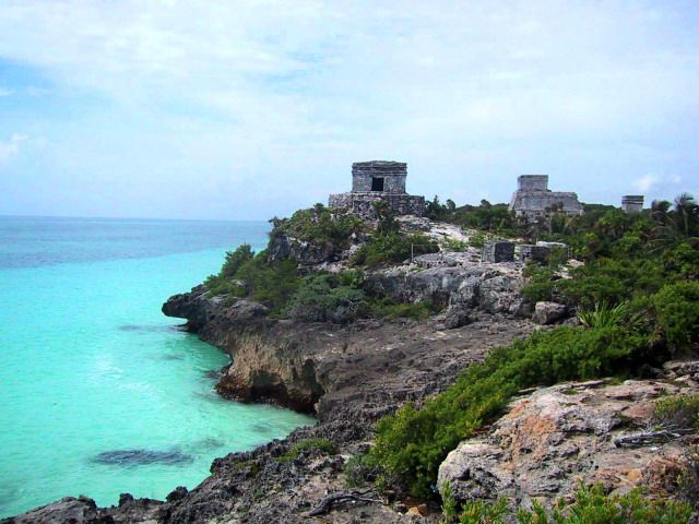 Mayan Ruins, Cozumel, Mexico. Stopped here on our cruise. This will be our honeymoon.