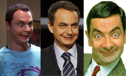 Big Band Theory-ko Sheldon Cooper, Zapatero eta Mr. Bean