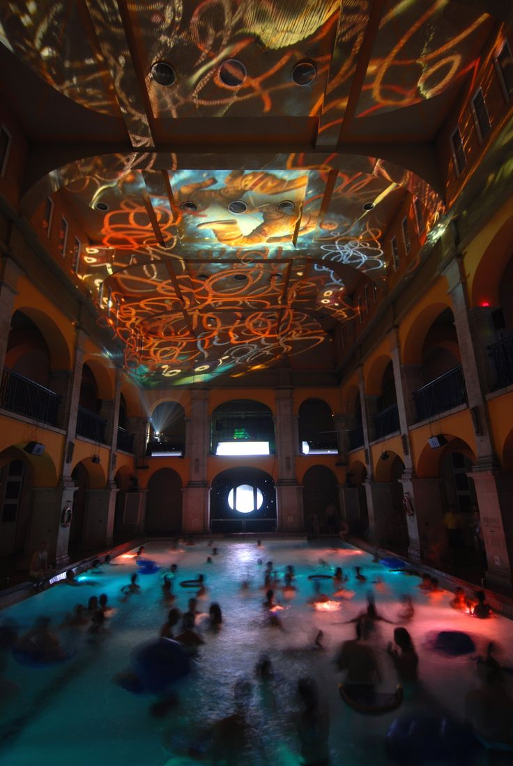 "Hungary Cinetrip thermal bath ""Sparty""   Budapest"