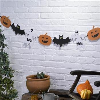 Happy Halloween Dekorasjon med 15 figurer / Multitrend