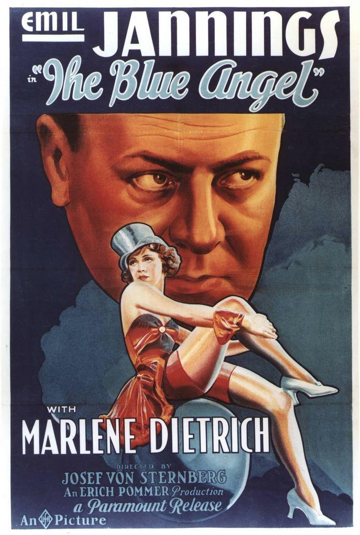 Der Blaue Engel English movie poster, 1930