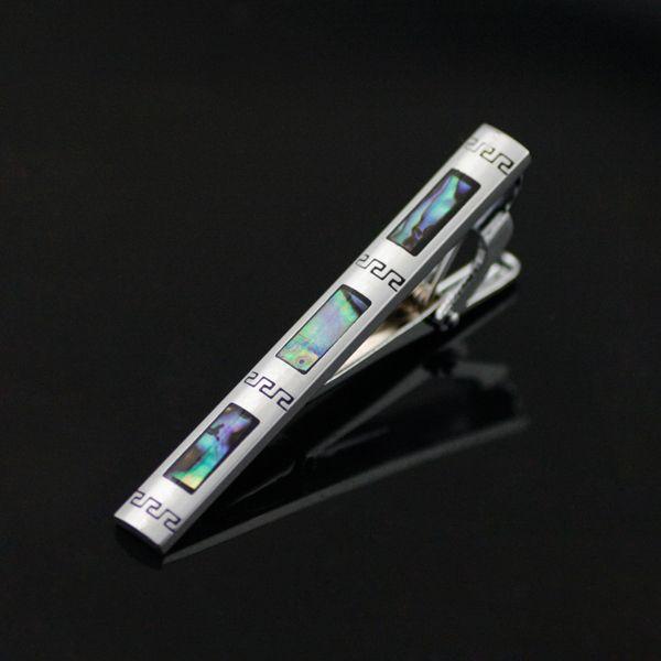Luxusná kravatová spona značky JASON & VOGUE v striebornej úprave