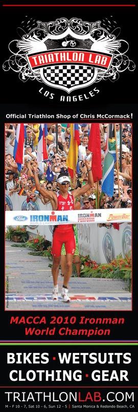Lava Magazine after Macca won the 2010 Ironman World Championship in Kona!