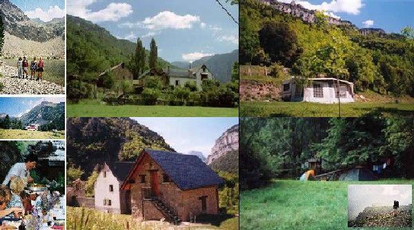 Boerderij camping Spaanse Pyreneeën - Kamperen bij de boer - Spanje