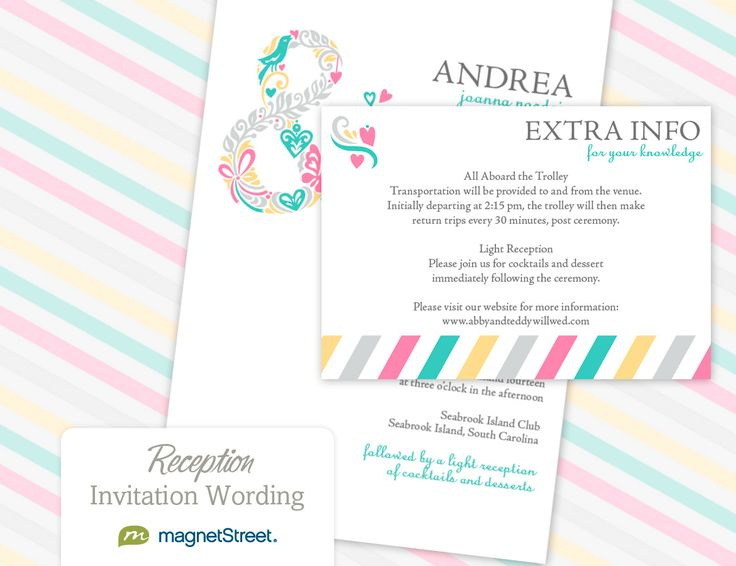 ... Wedding invitation wording samples, Invitation wording and Wedding