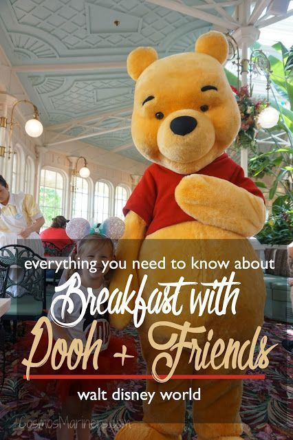 Breakfast with Pooh   Friends: The Crystal Palace at Walt Disney World Dining Review