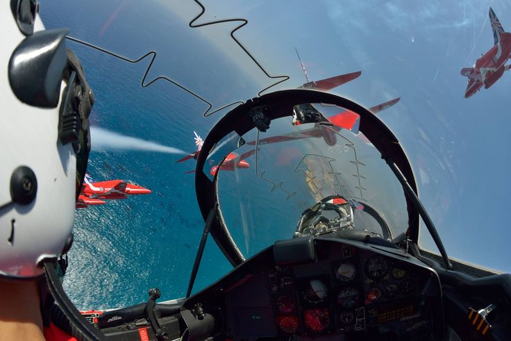 The Red Arrows. Cyprus, 2014.