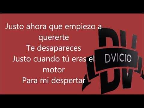 ▶ DVicio - Justo Ahora {Letra} Otro Single! - YouTube