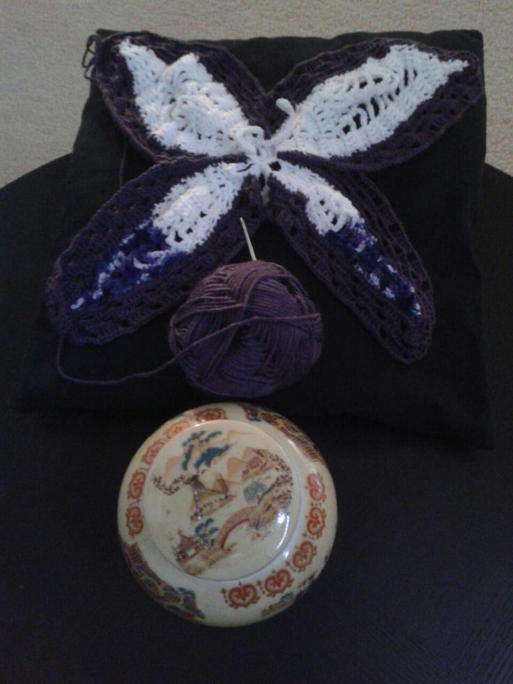 Fly butterfly (crochet)