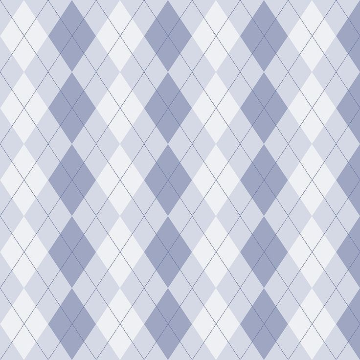 Blue And White Argyle Pattern Photograph