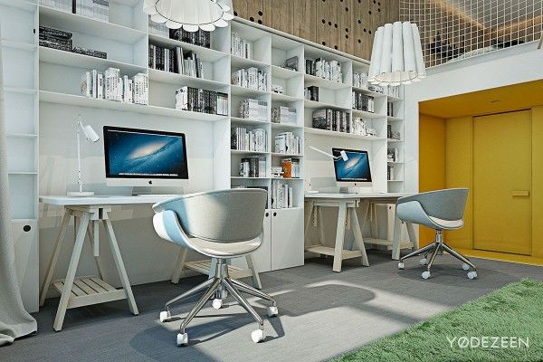 A Kids Friendly Apartment Design With Lots Of Playful Features