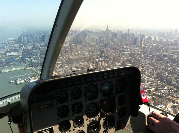 Flying New York
