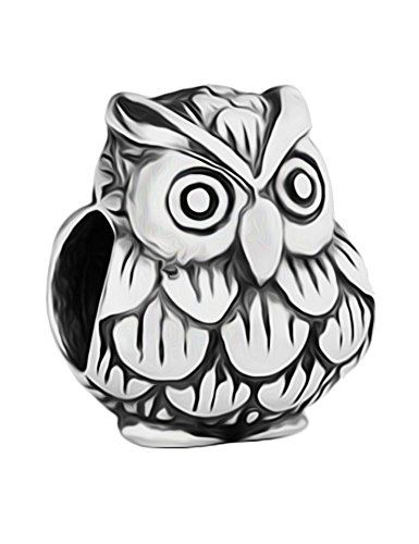 Baby Owl Charm Bead - 925 Sterling Silver - fits Pandora Biagi & Trollbeads Bracelets LSDesigns http://www.amazon.co.uk/dp/B00GNCZOQE/ref=cm_sw_r_pi_dp_jLTSwb0MWMR7Y