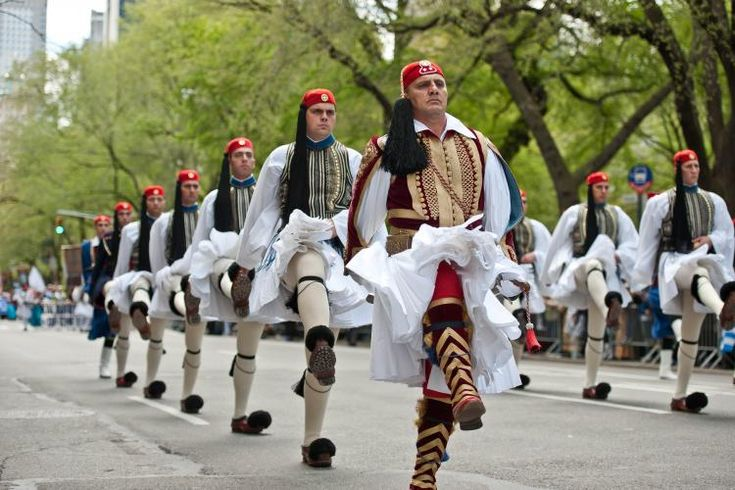 Greek parade, 5th Ave NYC