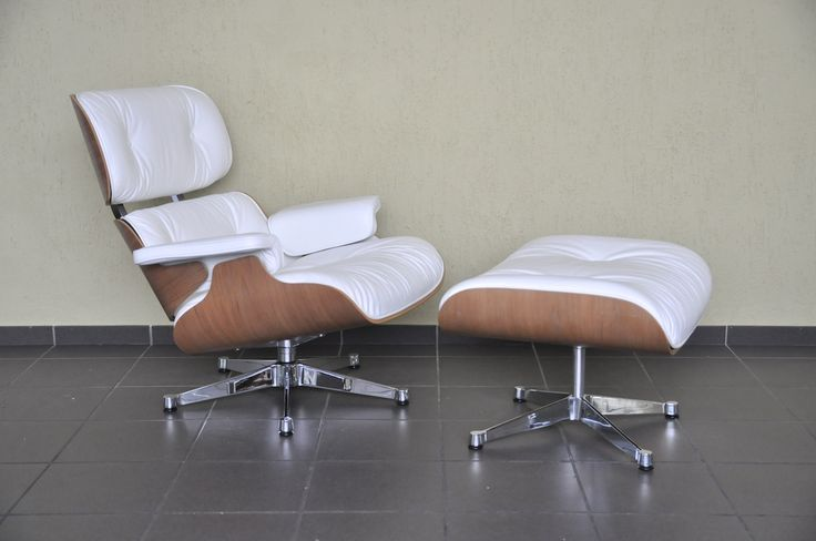 Ray & Charles Eames Vitra Lounge chair mit Ottoman